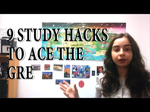 9 Study Hacks to Ace the GRE