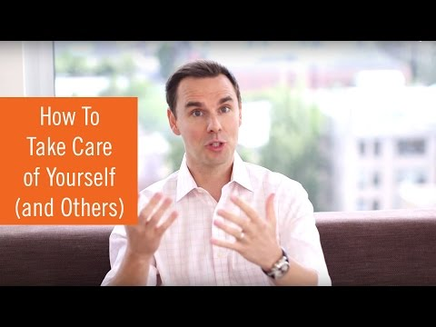 How To Take Care of Yourself (while taking care of others)