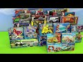 Fire Truck, Tractor, Train, Police Cars, Garbage Trucks & Excavator Toy Vehicles for Kids thumb