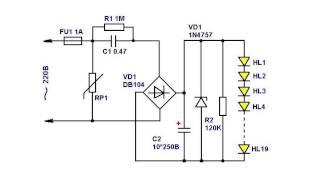 Драйвер для питания светодиодов от сети