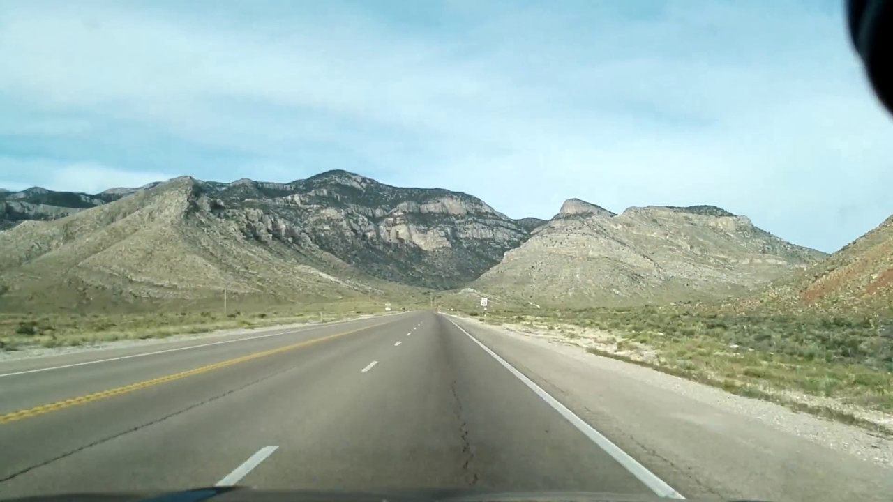 Pahrump To Las Vegas >> Las Vegas To Pahrump On Nevada Sr 160 Youtube