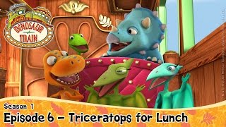 DINOSAUR TRAIN SEASON 1: Episode 6 - Triceratops for Lunch