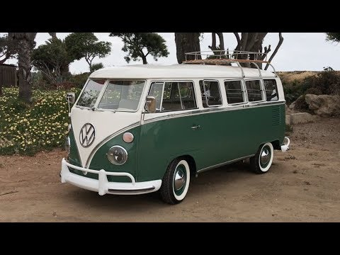 100% electric VW Microbus with Tesla batteries