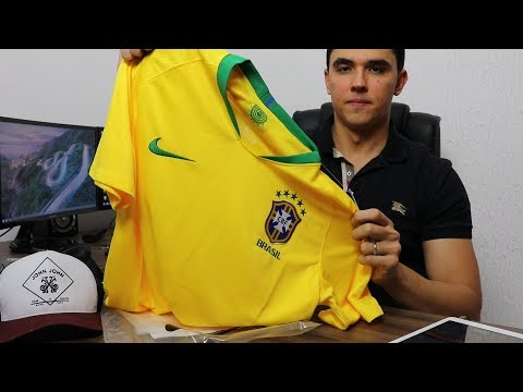#Unboxing Camisa da Seleção Brasileira