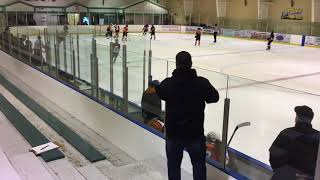Western AAA Bantam Females Game 2 Part of Period 2 Oct 2017