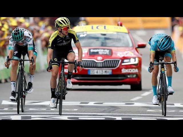 """Британец Йейтс выиграл 12-й этап """"Тур де Франс"""""""