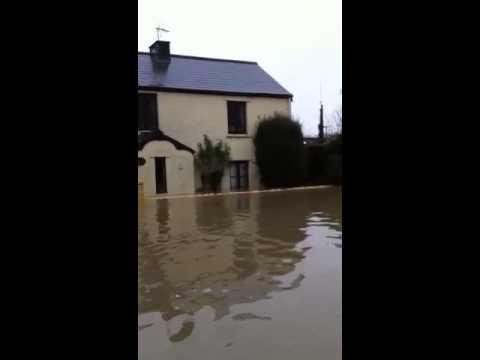 Flood at Llantwit Major