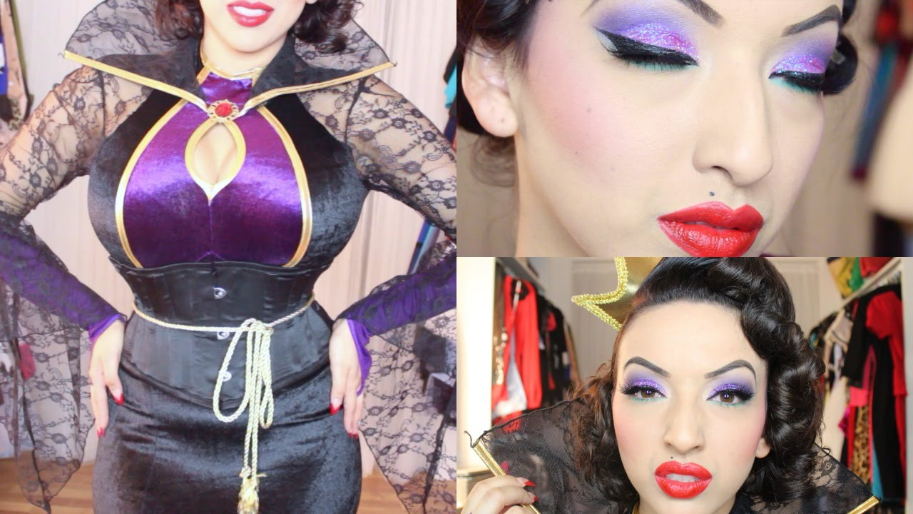 Evil Queen Makeup Tutorial (Snow White
