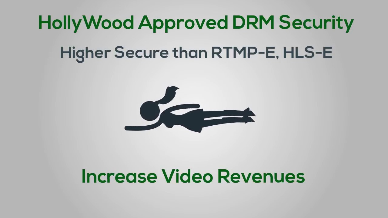Widevine DRM Video Streaming with VdoCipher: Hollywood Approved