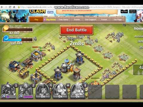 Castle Clash The New Adventure 1.Bölüm