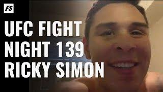UFC Denver's Ricky Simon Aiming For A Late Finish On Ricardo Ramos