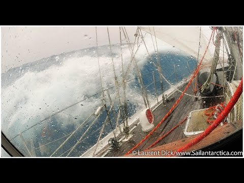 Crossing the Drake Passage by sailboat