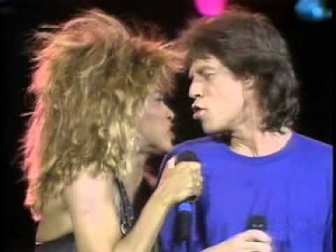 Mick Jagger & Tina Turner  It