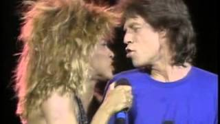 Mick Jagger & Tina Turner  It's Only Rock 'n Roll (But I Like It) Philadelphia 1985