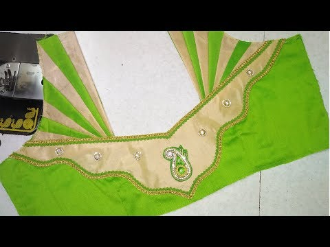 Easy back neck blouse designing || latest design of ladies blouses