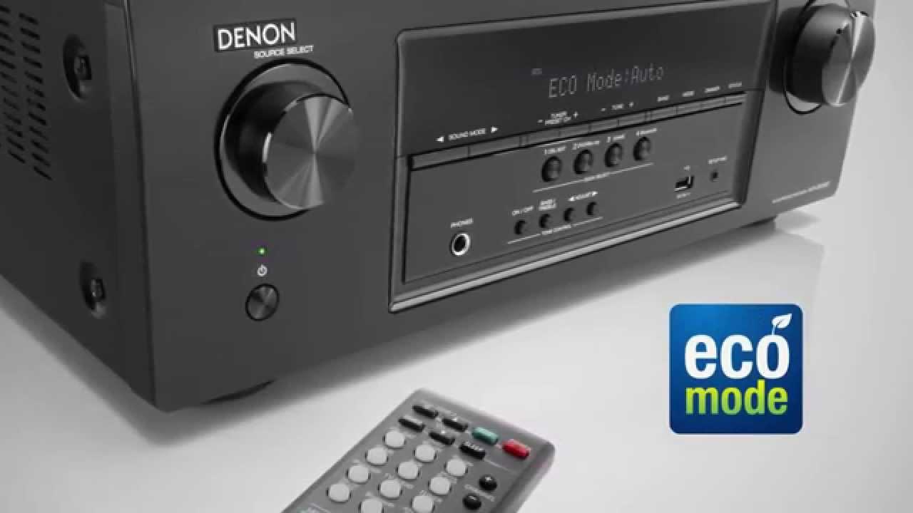 Denon AVR-S510BT - Flawless Meets Wireless
