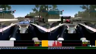 F1 2012 Demo  X360 vs PS3