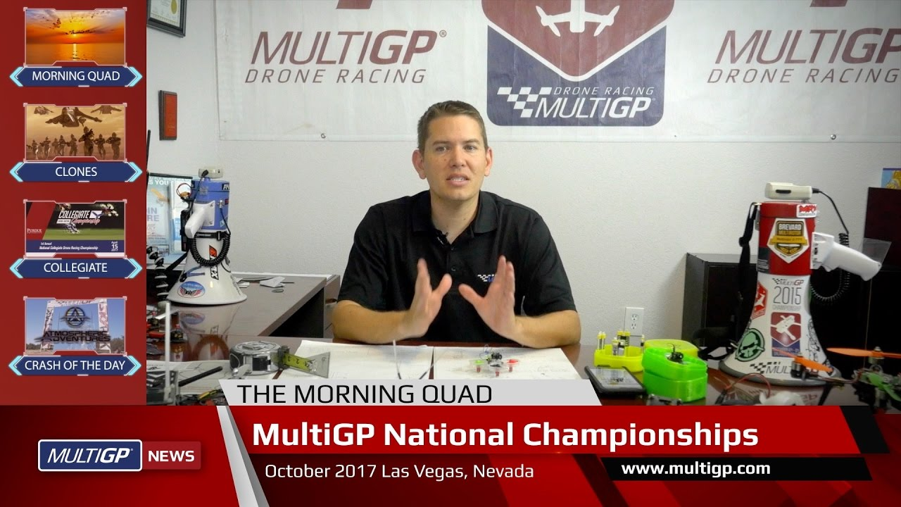 "MultiGP News – Ep. 1 - ""Clone Wars"", Regional Series Update, What is Drone Racing?"