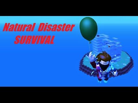 Natural Disaster Survival Roblox Balloon