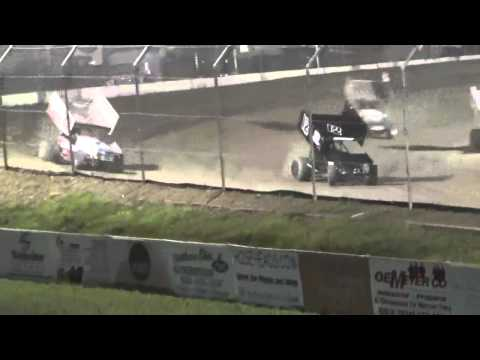 7.10.15 Attica Raceway Park 305 Sprints A Main