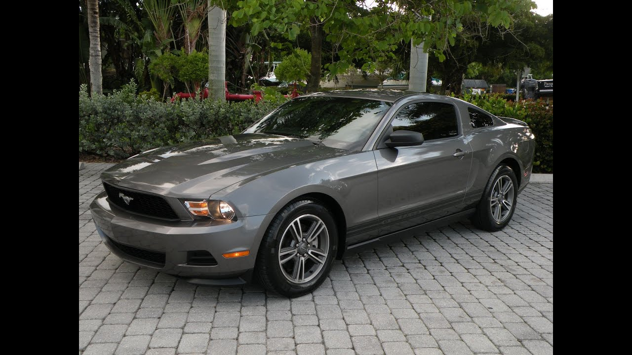 2011 ford mustang v6 premium coupe for sale auto haus of fort myers florida