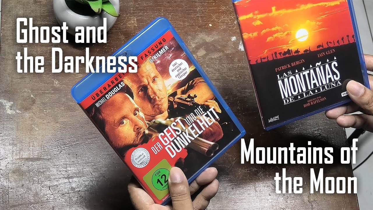 The Ghost and the Darkness & Mountains of the Moon Blu Ray Unboxing & Review