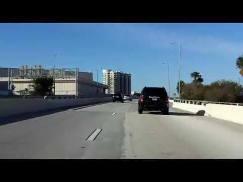 Lee Roy Selmon Expressway (FL 618 Exits 9 to 1) westbound