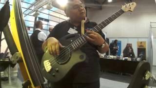 SBIP Pseudo Acoustic bass at JazzAhead 2016