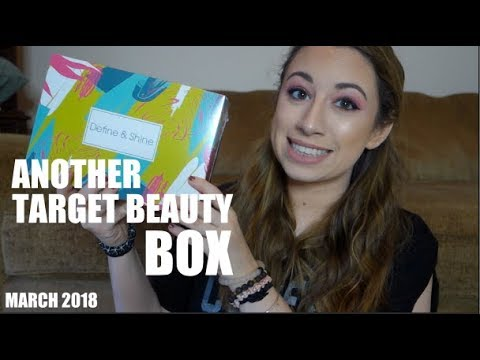 ANOTHER TARGET BEAUTY BOX | DEFINE & SHINE BOX | MARCH 2018