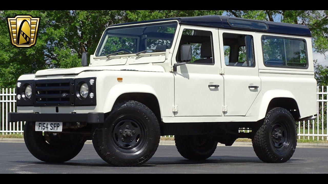 1989 Land Rover Defender 110 Gateway Orlando #789 - YouTube