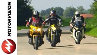 Honda CBF 1000 vs. Honda CB 1000 R vs. Honda Fireblade