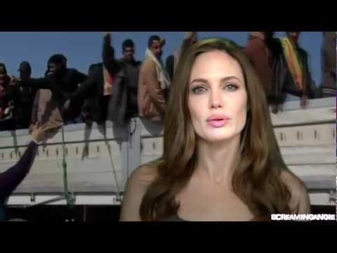 Angelina Jolie Message : World Refugee Day 2012