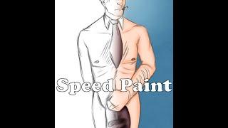 Naked Maskless Spy Speed Paint