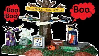 Little Ghouls Halloween Flying School Cemetery RIP Pumpkin Witch Songs for Kids Toddlers Children