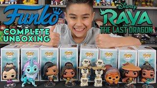 Raya and The Last Dragon Funko Pop Tuk Tuk Disney