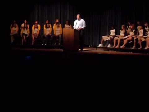 2009 yearbook assembly speech