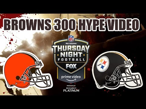 Allen Colon - BROWNS 300 the Hype video getting you ready for TNF!