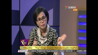 IBU SRI MULYANI DI ROSI - KOMPASTV 10-08-2017