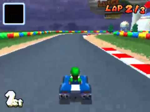 mario kart ds leaf cup gba luigi circuit youtube. Black Bedroom Furniture Sets. Home Design Ideas