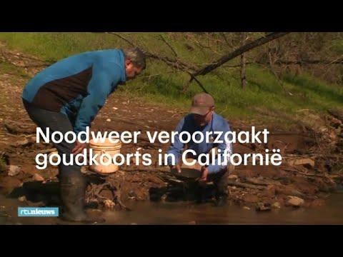 Noodweer veroorzaakt goudkoorts in Californië - RTL NIEUWS