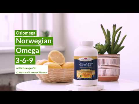 Oslomega Fish Oil | High Quality And Effective Omega-3 Dietary Supplement For Daily Use