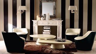 Черно-белая гостиная (26 фото)