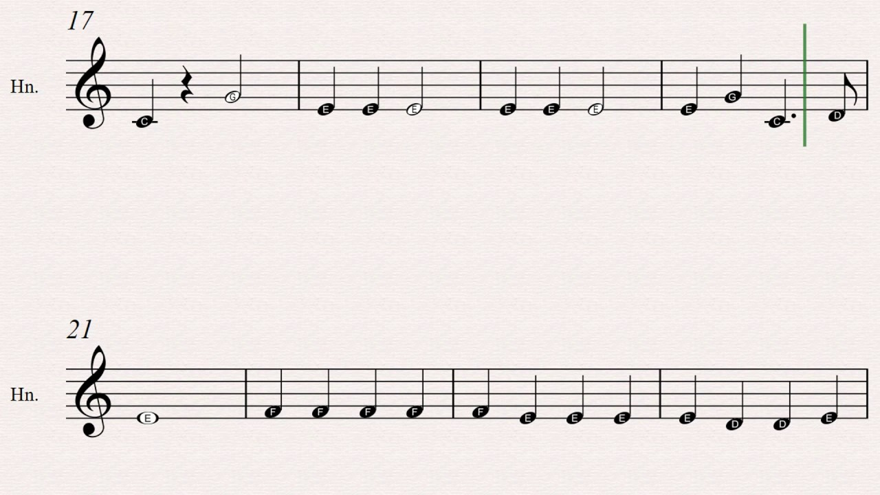jingle bells sheet music 20 easy christmas carols for beginners french horn book 2 youtube. Black Bedroom Furniture Sets. Home Design Ideas