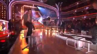 "Diego Boneta, Julianne Hough & Mary J Blige ""Rock Of Ages"" - Dancing With The Stars"