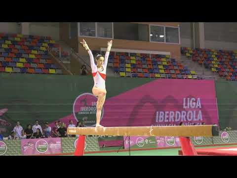Ana Pérez (Club Sur) Barra Final Liga Iberdrola Gimnasia Artística Femenina 2019