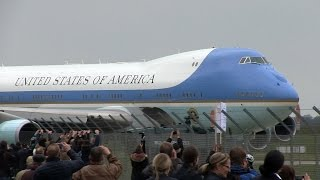 Air Force One Takeoff at Hannover Airport