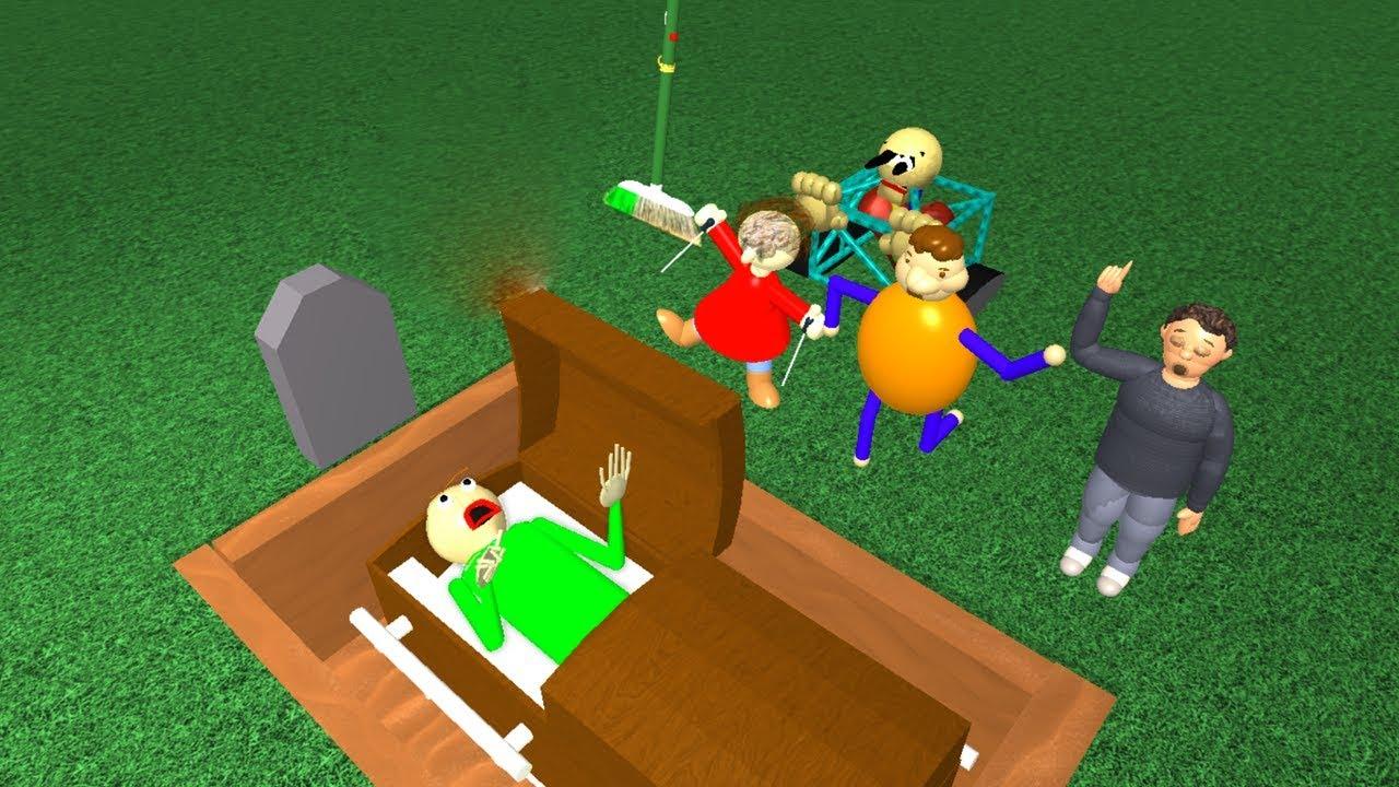 Baldi S Basics Funeral Roblox Animation Youtube