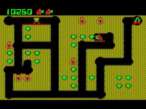 Digger (1983) DOS PC Game