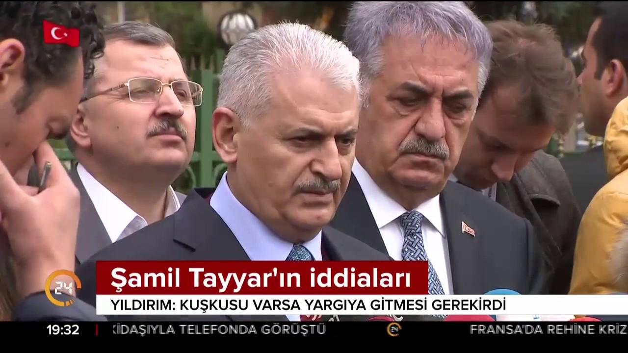 Başbakan Yıldırım, Şamil Tayyar'ın iddialarına cevap verdi