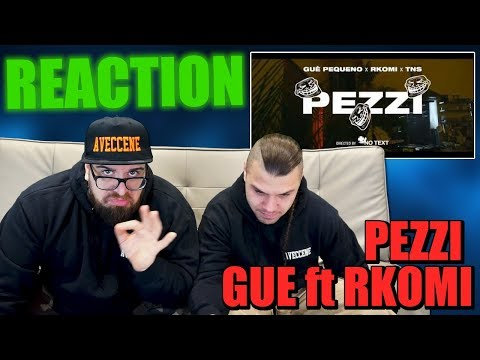Guè Pequeno & Rkomi - Pezzi (Prod. Night Skinny) | RAP REACTION 2017 | ARCADE BOYZ